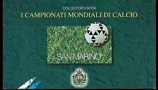 SAN MARINO 1998 Libretto Mondiali Calcio FRANCE '98 USATO