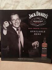 JACK DANIELS SINATRA  glossy POSTER  12 by 12