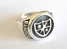 Solid Sterling Silver 925 Army 75th Ranger Regiment Ring