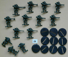 SPACE CRUSADE LOT 9 figurines GRETCHIN TBE (+ socles) GAMES WORKSHOP 1990 /SC29