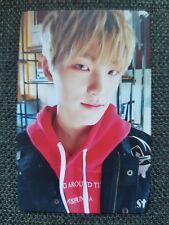 TARJETA FOTOGRÁFICA Diecisiete seungkwan Blanco Versión Oficial Tarjeta con fotografía 2nd álbum Teen, edad