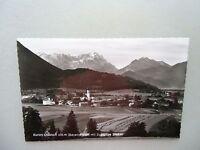 Ansichtskarte Ohlstadt Bayer. Alpen mit Zugspitze 1962