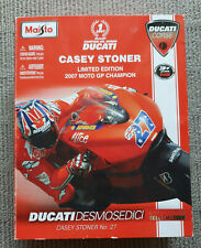 RARE Ducati Desmosedici Ltd Ed 2007 Moto GP Champion Casey Stoner No 27