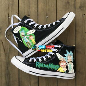 RICK AND MORTY hand painted shoes zapatos pintados scarpe dipinte a mano