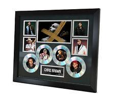 Chris Brown - Signed Memorabilia - Limited Edition of 250 - COA - Framed - 4CD