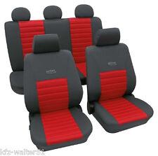OPEL Corsa C Sport Sitzbezüge Schonbezüge Eco Class Active Sports Rot