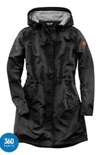 NEW GENUINE MINI PARKA NYLON JACKET COAT BLACK SLIM FIT MEDIUM LADIES WOMENS