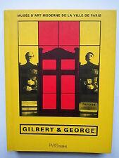 """"""" GILBERT & GEORGE """" Catalogue du M.A.M. de Paris 1997, Edition bilingue"""