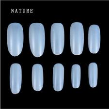 100/500Pcs Clear White Natural French False Nail Art Tips UV Gel Utility HOT - S