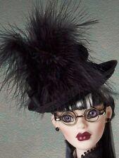 Tonner Wilde Evangeline Ghastly ~ Steampunk Gothic Glam Parnilla HAT ONLY