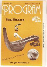 BRIDGEPORT CT Jai-Alai Program April 29 1978 - Good Condition