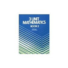 3 Unit Maths Book 2: Book 2 by K.E. Couchman, S.B. Jones ) HSC YEAR 12