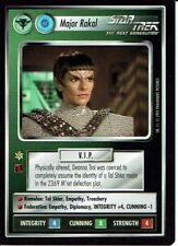 STAR TREK CCG ALTERNATE UNIVERSE RARE CARD MAJOR RAKAL