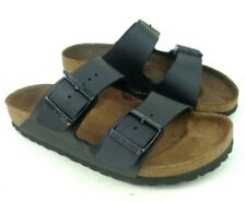 Unisex Birkenstock Arizona Black Double Strap Sandals Slides Size 39 (M: 7 W: 9)