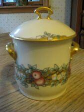 Wehinger Czechoslovakian condensed milk jam porcelain jar circa 1920.