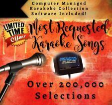 Karaoke Music Collection Hard Drive - 1 Terabyte Hard Drive! - Licensed