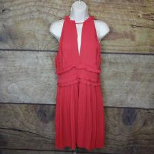6b821e5d1eb9 Max Studio London Pleated Crepe Dress Size L # 1b 345