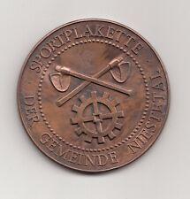 BRD Medaille Gemeinde Niestetal (Nordhessen, bei Kassel) 1989  Nr.4/12/16/468