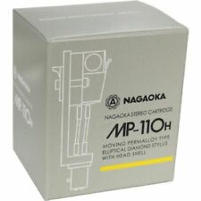 NAGAOKA MP-110H STEREO CARTRIDGE+HEADSHELL FROM JAPAN FREE SHIPPING w/TRACKING