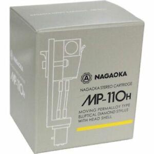 NAGAOKA MP-110H STEREO CARTRIDGE+HEADSHELL FROM JAPAN FREE SHIPPING w/TRACKING
