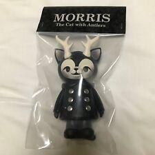 Kaori Hinata Black Morris Hinatique Cat Antlers Limited Sofubi Figure Japan Rare
