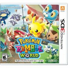 3DS Games Pokemon Rumble World