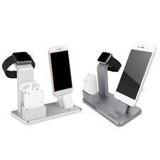 3 en 1 Cargador Dock para iPhone, Apple Reloj y AirPod muelle de carga (bronce)