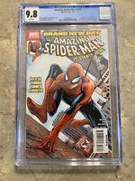 AMAZING SPIDER-MAN #546 CGC 9.8 NM/MT 1ST APPEARANCE MISTER NEGATIVE & JACKPOT
