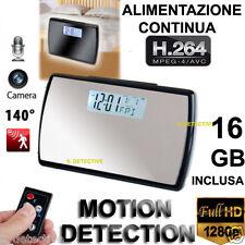 Telecamera microcamera spia micro spy camera nascosta orologio camera