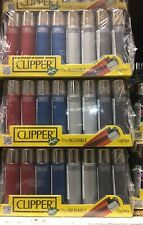 Genuine Clipper Refillable Lighters With Child Lock X 40