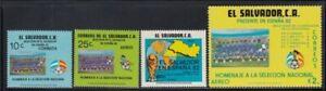EL SALVADOR España '82 World Cup Championships MNH set