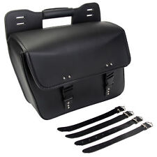 Motorcycle Left Hard Saddlebag Saddle Side Bag For Harley Sportster Dyna Cafer