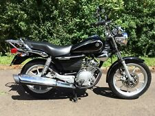 2014 Yamaha YBR 125 Custom only covered 134 miles! MOT fuel injection learner