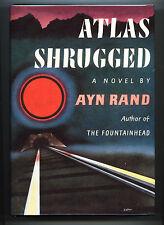 Atlas Shrugged (1957) Ayn Rand, 1st Edition, 7th Printing in Dust Wrapper