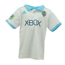 Seattle Sounders FC Official MLS Adidas Toddler Size Athletic Collard Shirt New