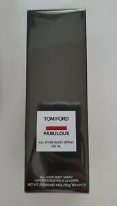 TOM FORD FABULOUS All Over Body Spray 4 oz 150 ML Full Sized Sealed