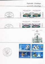 DDR 1986, 41 FDC-Jahrgang komplett mit Buchexport alle ohne Anschrift, Mi.180.--