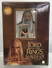 Lord Of The Rings Gentle Giant Saruman Light Up Bust 2547/3500 LOTR Box 2007