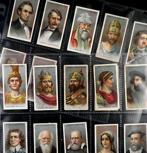 Leaders of Men Cigarette Cards by Ogdens 1924 Pick Card