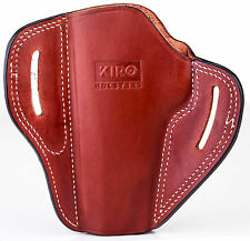 The Casual - KIRO Brown Leather Holster for Colt 1911