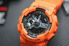 GA-110MR-4A Orange Casio Watch G-Shock 200M WR Analog Digital X-Large Resin New