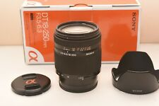 Used Sony SAL 18250 18-250mm f/3.5-6.3 DT Lens for SLR Alpha Camera
