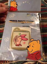 Disney Korea Cross Stitch Kit Piglet Key Chain NEW Wintech Winnie The Pooh