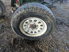 4 x 4 RUOTA IN ACCIAIO CON BRIDGESTONE 205 / 80 R 16 pneumatico montato 3 mm di battistrada