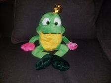 Frog with Crown stuffed animal