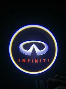 Wireless LED Courtesy Car Logo Door Ghost Shadow Projector Light Fit Infiniti