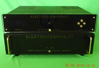 Electrocompaniet EC-4.7 Pre & AW-100DMB Fully Balanced PowerAmp.Valve like sound