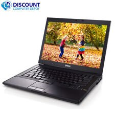 "DELL 14.1"" Latitude Laptop Intel Core 2.4GHz 4GB RAM 500GB HDD DVDRW Windows 10"