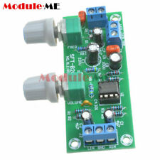 Low-pass Filter NE5532 Bass Tone Subwoofer Pre-Amplifier Preamp Board 12-24V L