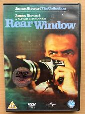 Rear Window Dvd 1954 Alfred Hitchcock Thriller Classic starring Grace Kelly